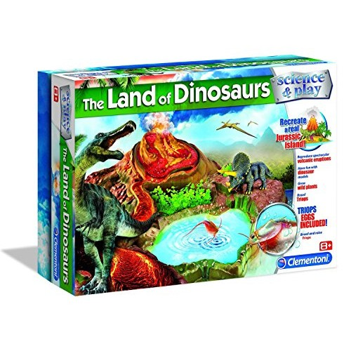 Clementoni The Land of Dinosaurs