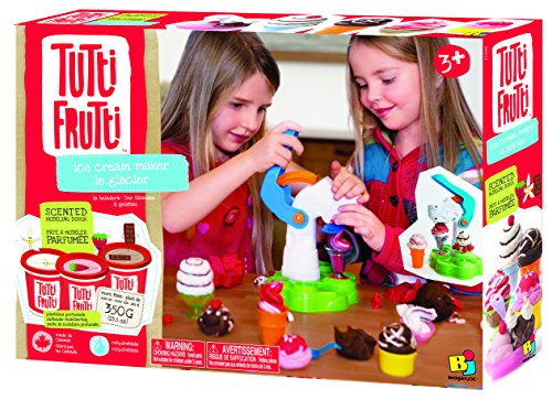 Bojeux Tutti Frutti Scented Dough Ice Cream Maker Toy