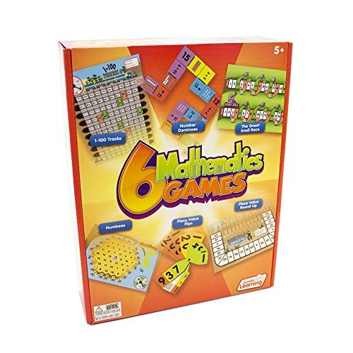 Junior Learning Different Mathematics Games Set of 6
