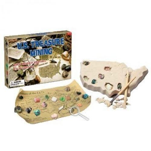 Tedco Toys 90058 Us Mineral Dig Excavation Kit