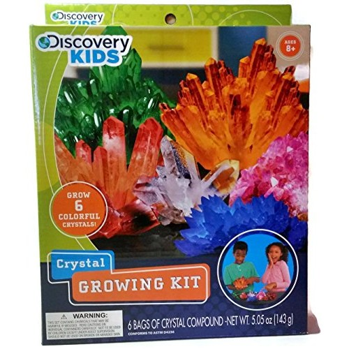 Discovery Kids Crystal Growing Kit – Ages 8+