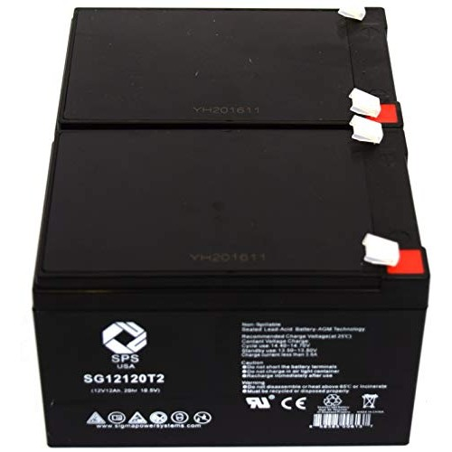 SPS Brand 12V 12Ah Replacement Battery for Pride TRAVELPRO 3-Wheel Travel Pro Portable Scooter