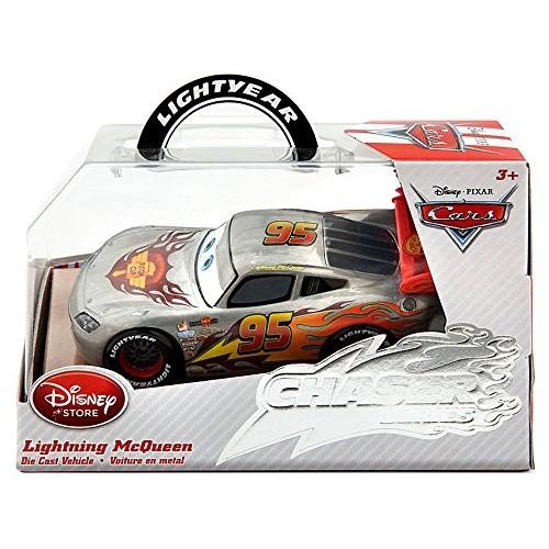 Lightning McQueen Die Cast Car – Silver Streak–Chaser Series