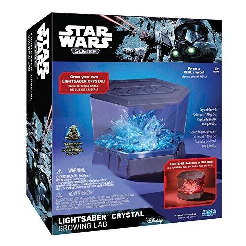 Star Wars Science Lightsaber Crystal Growing Lab – Uncle Milton