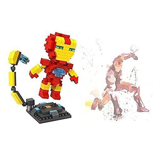 LOZ 250pcs Ironman Super Hero Avengers Building Block DIY Bricks Toys Gifts 9447