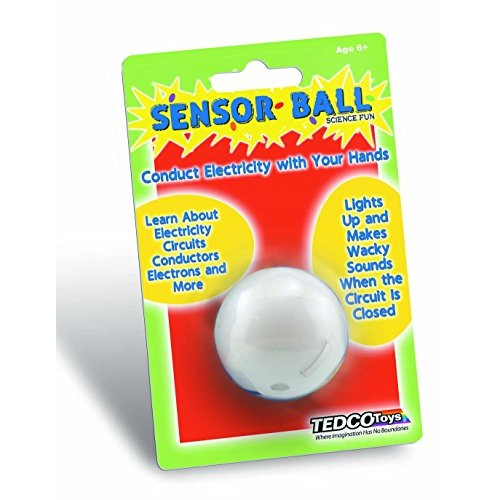 TEDCO Sensor Ball Age 6+ – Learn About Electricity Circuits Conductors Electrons & More