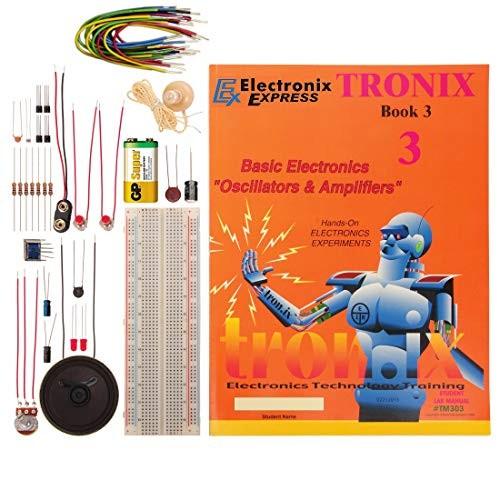 Electronix Express TRONIx 3 LAB Basic Electronics Oscillators and Amplifiers