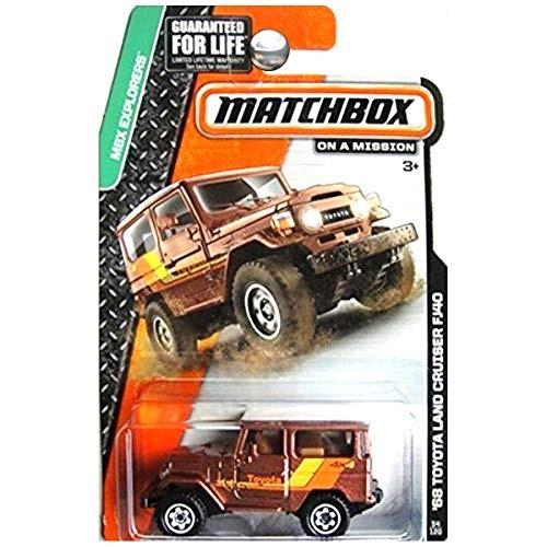 MATCHBOX MBX EXPLORERS '68 TOYOTA LAND CRUISER FJ40 54/120 BROWN/WHITE