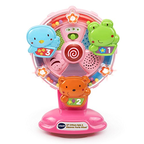 VTech Lil' Critters Spin and Discover Ferris Wheels Pink Amazon Exclusive