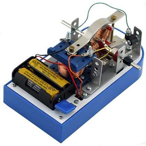 Electronix Express Build Your Own Electric Motor Kit – Electrical Engineering Educational Project No Soldering Required