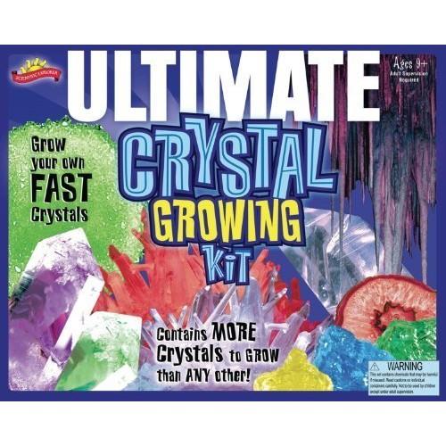 POOF Ultimate Crystal Growing Science Kit – Includes Bonus Pop Toob