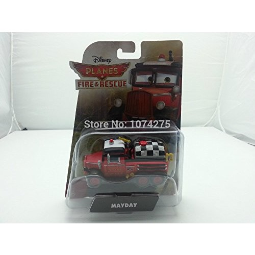 Pixar Cars 2 Fire & Rescue Mayday Original Boxed Metal Diecast Toys Cars