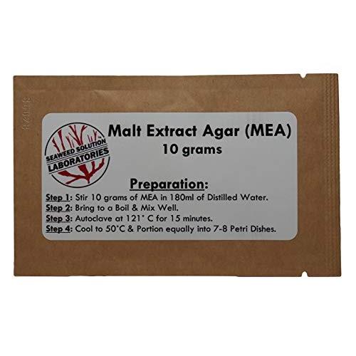 Malt Extract Agar MEA 10 Grams – Grow Mushrooms