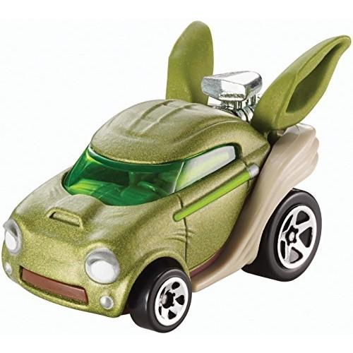 Hot Wheels Star Wars Yoda Character Car
