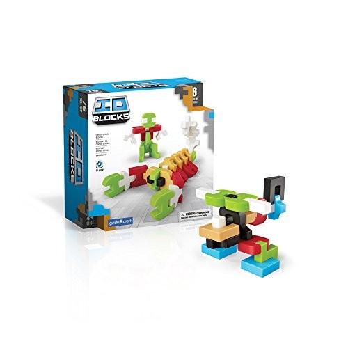 Guidecraft IO Blocks Digital Puzzle Building STEM Educational Construction Toy 76 – Piece Set