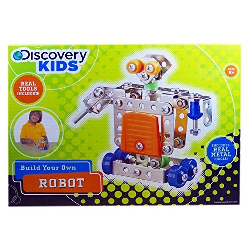 Discovery Kids Build Your Own Robot Kit