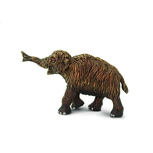 Safari Ltd Wild Dinosaur and Prehistoric Life Woolly Mammoth Baby Toy Figurine