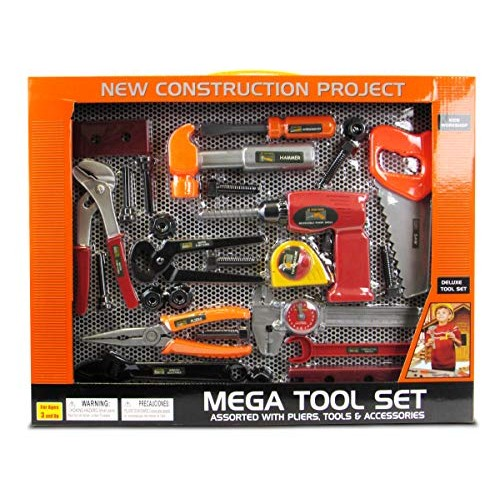 Kids Workshop Mega Deluxe Tool Set