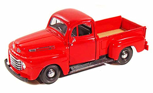 Maisto 1948 Ford F-1 Pickup Truck Red 31935-1 25 Scale Diecast Model Toy Car