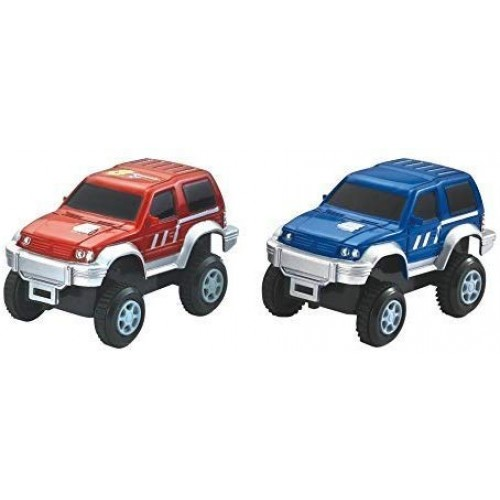 MMP Living Super Snap Speedway – 2 Pack of Electric Cars with Lights Compatible