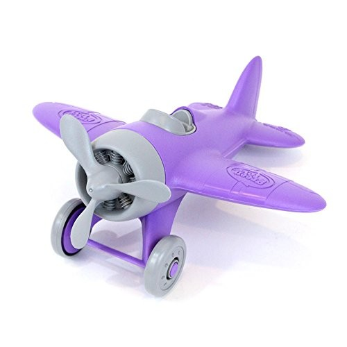 Green Toys Airplane Vehicle Toy Purple 85 X9 X45