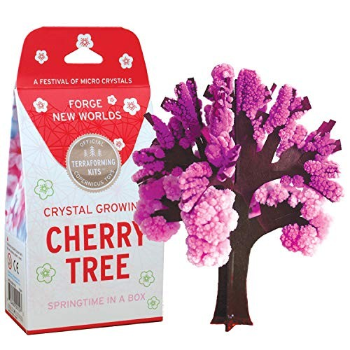 Cherry Tree Crystal Growing Kit Copernicus Toys Official Terraformer Grows in hours Facts and instructions included