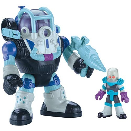 Fisher-Price Imaginext DC Super Friends Mr Freeze and Robot – Figures Multi Color