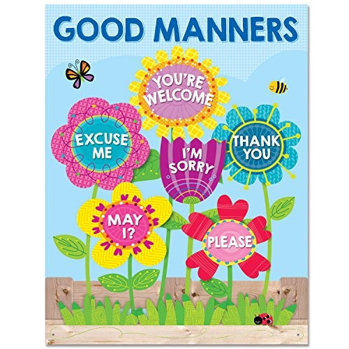 Creative Teaching Press Chart Garden of Good Manners 5556