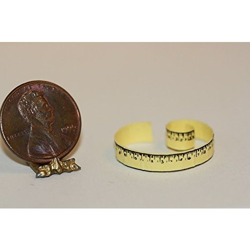 Multi Minis Dollhouse Miniature Tailor's Tape Measure