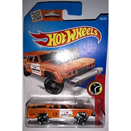 Hot Wheels 2016 HW Daredevils Cruise Bruiser 165/250 Orange