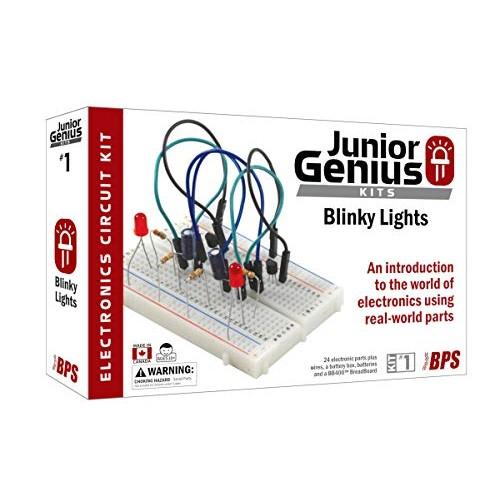 Junior Genius Kit #1 – Blinky Lights