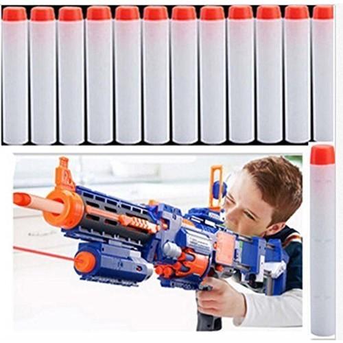 Yosoo 50pcs 72cm Toy Gun Soft Bullet Toy Bullet Refill Darts Sniper Bullet Blaster