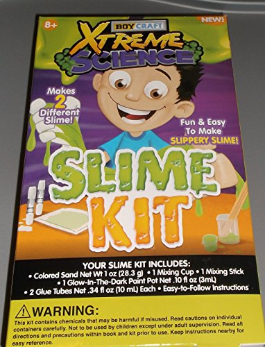 Boy Craft xTreme Science Slime Kit Make 2 Different