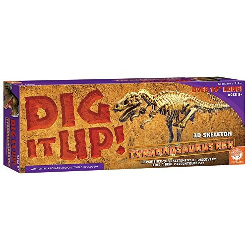 MindWare Dig It Up Giant Skeleton T-Rex Excavation kit
