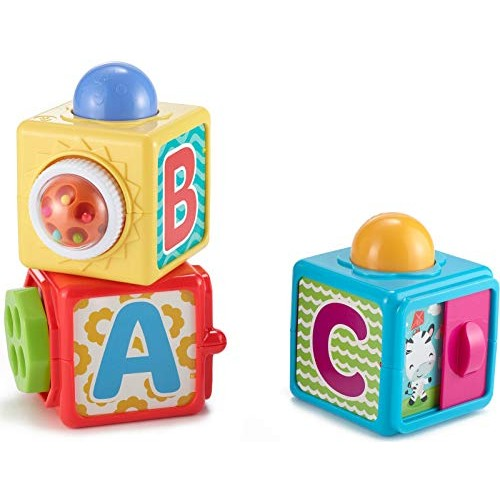Fisher-Price Stacking Action BlocksMulticolor