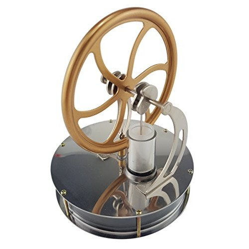 Usmile Low Temperature Stainless Steel Stirling Engine Generator Desk Models Education Toy Model Run Off The Difference