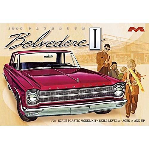 Moebius Models MOE1218 1965 Plymouth Belvedere (1/25)