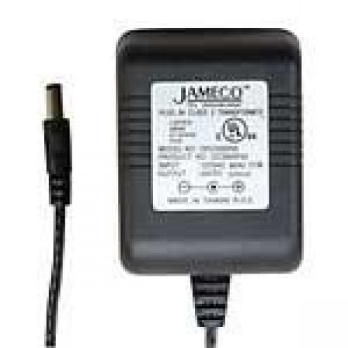 AC to DC Unregulated Wall Transformer 120VAC 30VDC 500mA