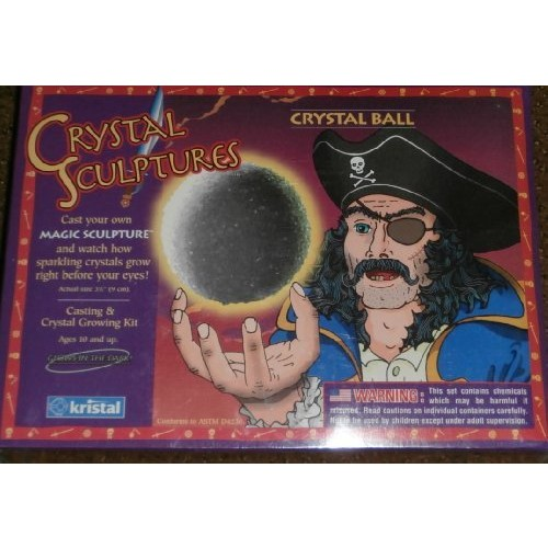 Crystal Sculptures Ball Casting & Growing Kit by Kristal