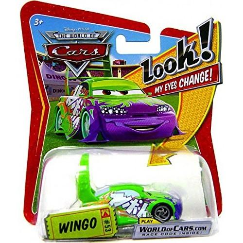 Wingo Disney Cars 1:55 Scale Lenticular Eyes Change Mattel Series 1 Edition by Disney