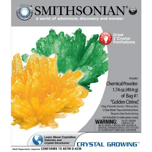 Smithsonian Micro Crystal Growing by