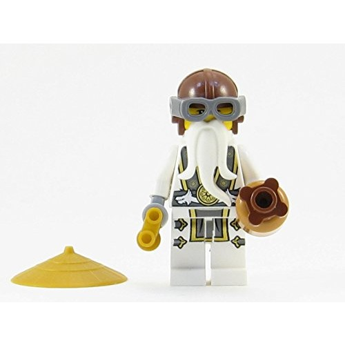 LEGO Ninjago Skybound Master Sensei Wu Ninja Minifigure Sky Pirate NEW 2016