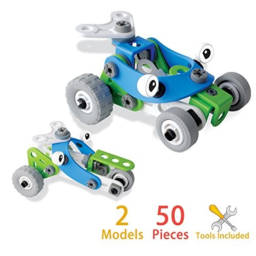 Elf Star Race Car Take-A-Part Educational Build Toy with Tools for Kids