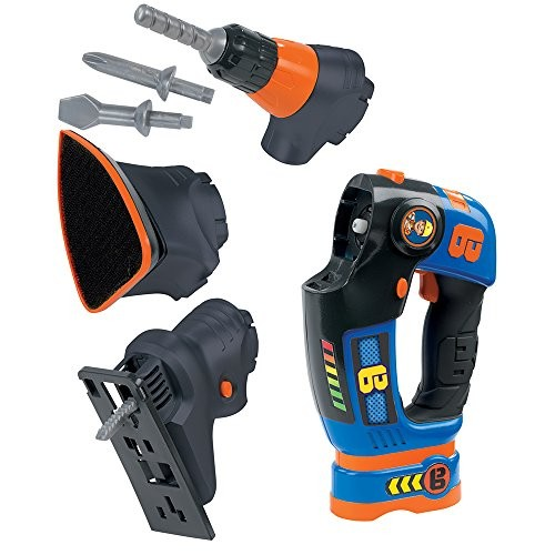 Bob The Builder Smoby 360132 3-in-1 Multi Tool Toy – Multicolor