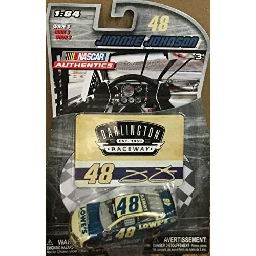 NASCAR Authentics 2015 Darlington Retro Paint Scheme 48 Jimmie Johnson Lowes 1/64 1:64 Scale