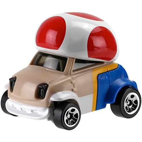 Hot Wheels Mario Bros Toad Car Vehicle