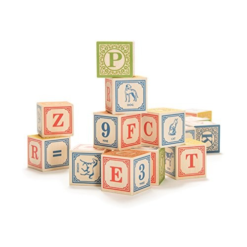 Uncle Goose Classic ABC Blocks – Made in The USA