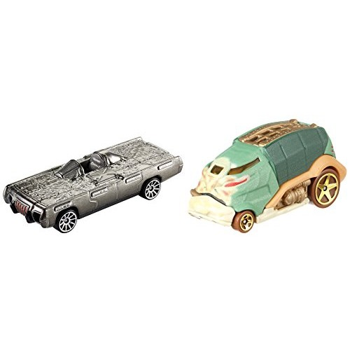 Hot Wheels Star Wars Rogue One Character Car Han Solo vs Jabba the Hutt