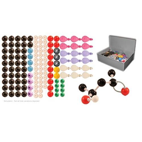 University Chemistry Co Molecular Model Kit for Organic and Inorganic Teacher Set 115 Atoms 140 Bonds 273 Pieces