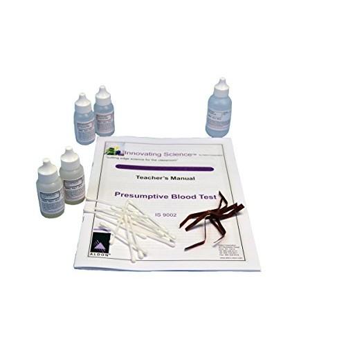 Forensic Chemistry Presumptive Blood Test Kit – Materials for 30 Tests